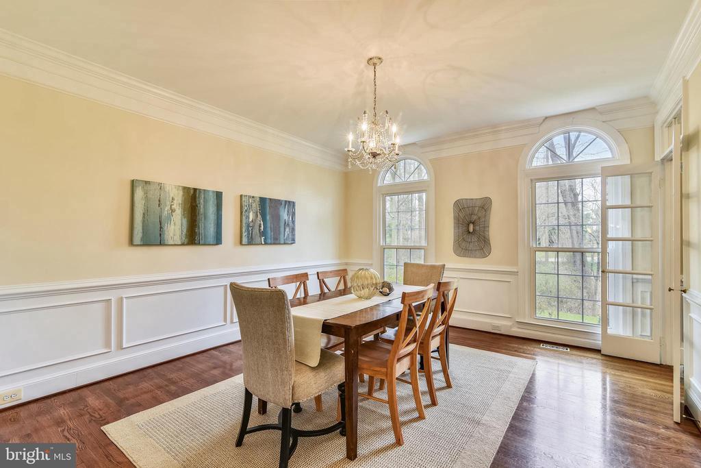 Exquisite Dining Room - 6620 HORSESHOE TRL, CLIFTON