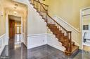 Grand two story  foyer - 6620 HORSESHOE TRL, CLIFTON