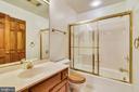 Full Bath in Basement - 6620 HORSESHOE TRL, CLIFTON