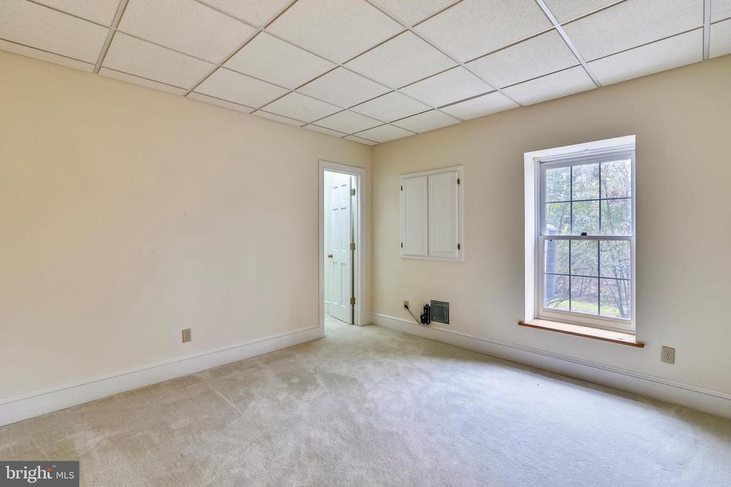 Lower level bedroom - 6620 HORSESHOE TRL, CLIFTON