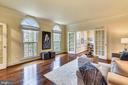 Formal Living Room  of Foyer - 6620 HORSESHOE TRL, CLIFTON