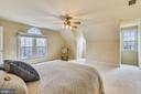 SECOND MASTER Bedroom! - 6620 HORSESHOE TRL, CLIFTON