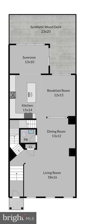 Main Level Floor Plan - 20639 ERSKINE TER, ASHBURN