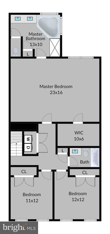 Upper Level Floor Plan - 20639 ERSKINE TER, ASHBURN