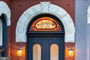 Historic facade with new stained glass transom - 902 E CAPITOL ST NE, WASHINGTON