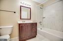 Exceptional bathroom - 100 CHESTERFIELD LN #201, STAFFORD