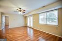 Family room - 100 CHESTERFIELD LN #201, STAFFORD