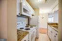 Beautifully updated kitchen! - 100 CHESTERFIELD LN #201, STAFFORD