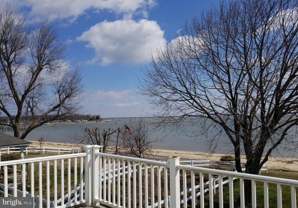Beautiful beach off your back yard - 380 SHORE DR, COLONIAL BEACH