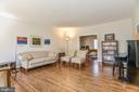Solid Hardwoods in Formal Living Room - 11330 BRIGHT POND LN, RESTON