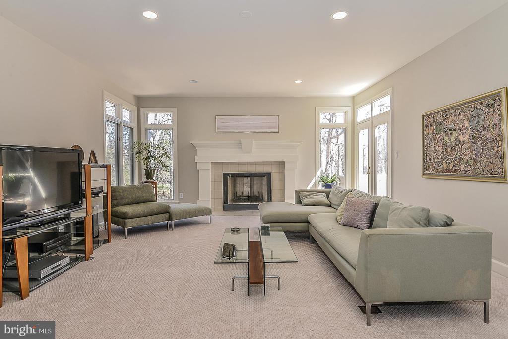 New Carpeting in Family Room - 11330 BRIGHT POND LN, RESTON
