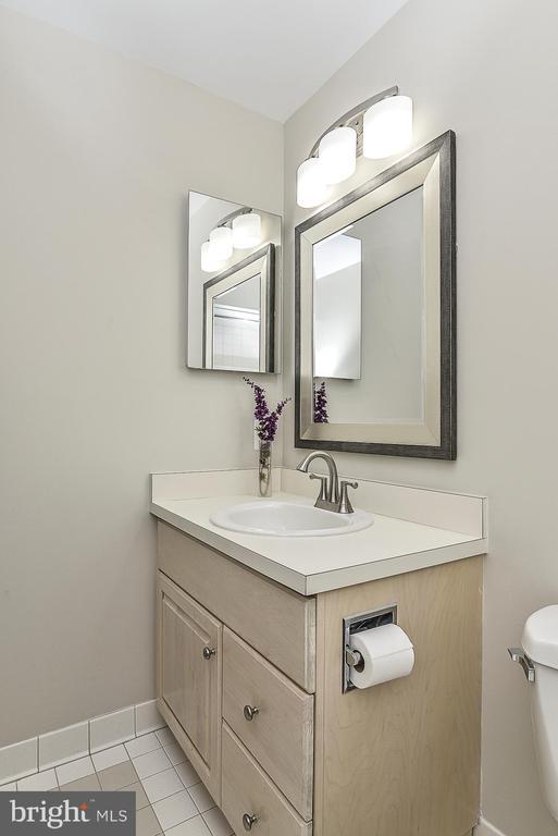 En-suite Bath in Bedroom 4 - 11330 BRIGHT POND LN, RESTON