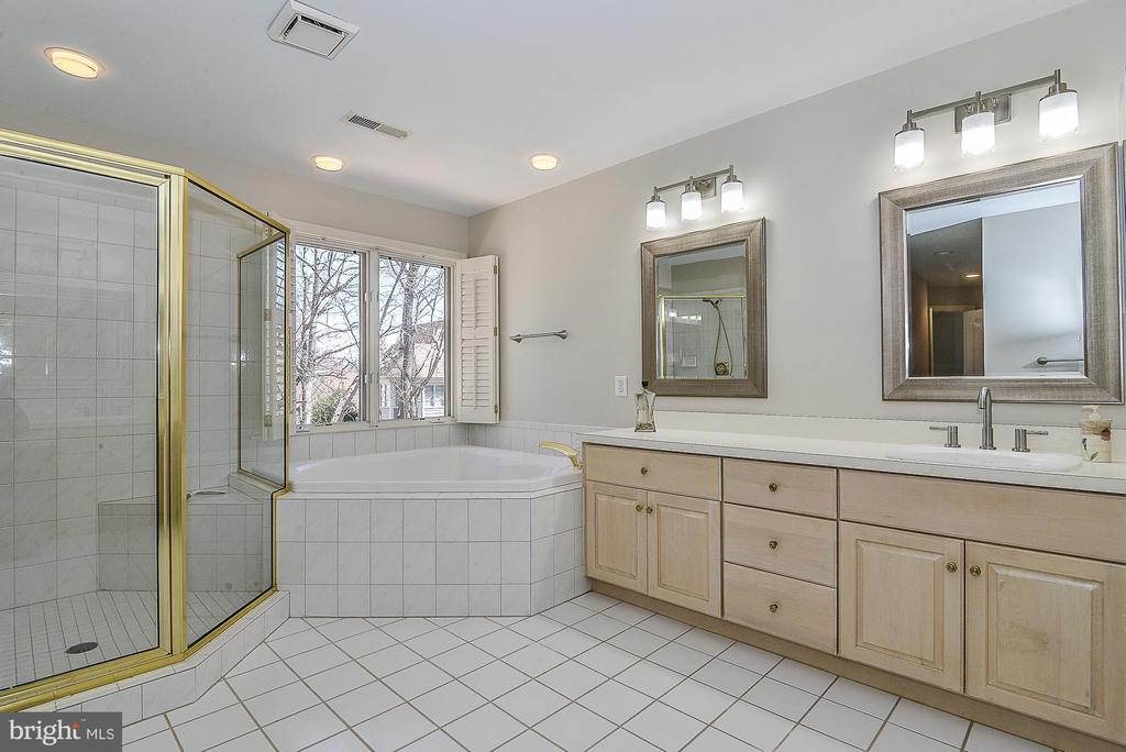 Jetted Tub, Separate Shower with Bench - 11330 BRIGHT POND LN, RESTON
