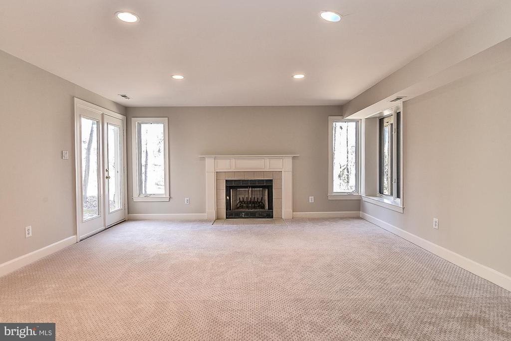 New Carpeting, Fresh Paint, & Fireplace in Rec RM - 11330 BRIGHT POND LN, RESTON