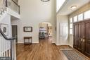 Architectural Archways in Formal Spaces - 11330 BRIGHT POND LN, RESTON