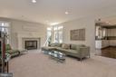 Spaciously Sized Family Room - 11330 BRIGHT POND LN, RESTON