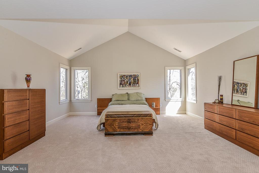 Cathedral Ceilings in Master Suite - 11330 BRIGHT POND LN, RESTON