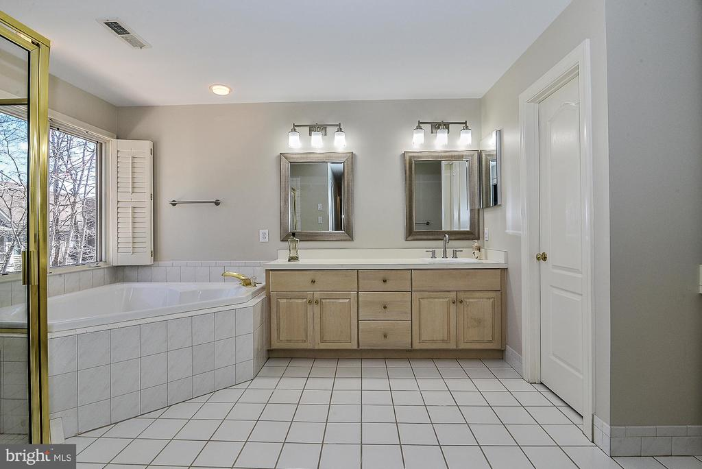 New Mirrors, and Fixtures in Master Bath - 11330 BRIGHT POND LN, RESTON