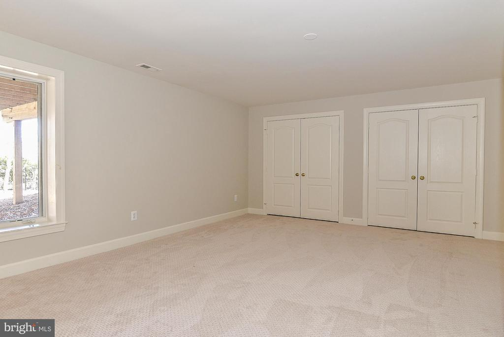 Large Bedroom 5 in Lower Level - 11330 BRIGHT POND LN, RESTON
