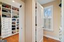 Dressing room and his and her closets - 24082 CHAMPE FORD RD, MIDDLEBURG