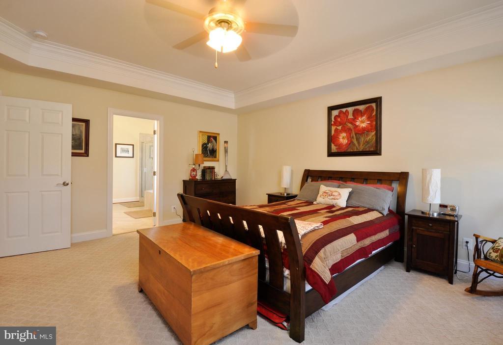 First floor master suite is 16 x 16 - 9910 AGNES LN, SPOTSYLVANIA