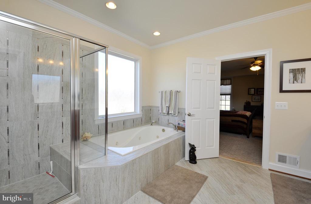 Soaking tub plus separate shower - 9910 AGNES LN, SPOTSYLVANIA
