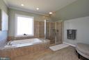 Love all of the tile! - 9910 AGNES LN, SPOTSYLVANIA
