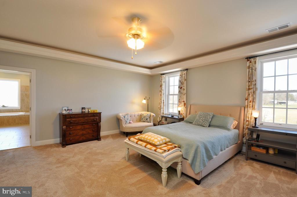 2nd master suite on 2nd floor - 9910 AGNES LN, SPOTSYLVANIA