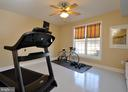 Exercise room or could be a basement bedroom - 9910 AGNES LN, SPOTSYLVANIA