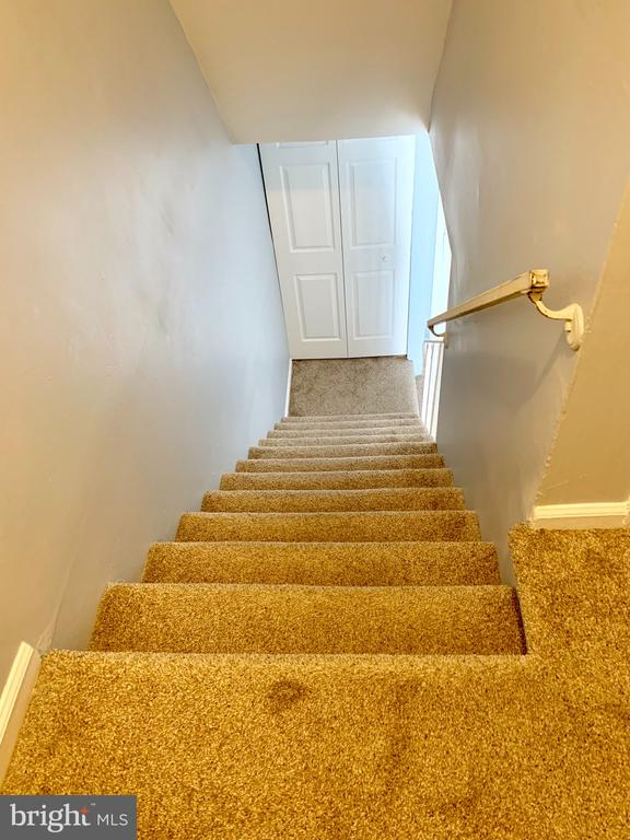 brand new carpet in entire townhouse - 608 DENTON CIR, FREDERICKSBURG