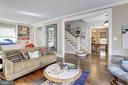 Bright, Spacious Living Room - 3906 INGOMAR ST NW, WASHINGTON