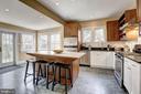 Carrara Marble + Honed Granite Counters - 3906 INGOMAR ST NW, WASHINGTON