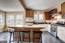Cherry Cabinets and Amtico Flooring - 3906 INGOMAR ST NW, WASHINGTON