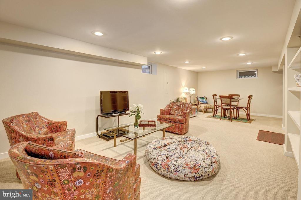 Bright Recreation Room - 3906 INGOMAR ST NW, WASHINGTON