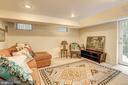 Bedroom Six with Private Entrance - 3906 INGOMAR ST NW, WASHINGTON