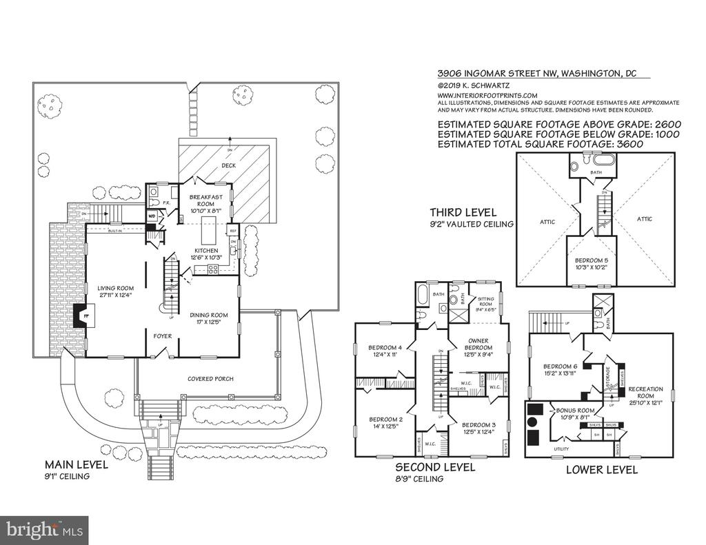 Floor Plan - 3906 INGOMAR ST NW, WASHINGTON