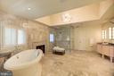 Master Bath - Free-standing Tub - 1168 CHAIN BRIDGE RD, MCLEAN