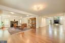 Foyer / Reception facing Dining Room - 1168 CHAIN BRIDGE RD, MCLEAN