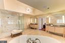 Master Bath - Dual Vanity Stations - 1168 CHAIN BRIDGE RD, MCLEAN