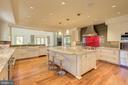 Gourmet Chef's Kitchen - Walnut Flooring - 1168 CHAIN BRIDGE RD, MCLEAN