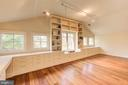 2nd Upper Level Bedroom with Custom Built-ins - 1168 CHAIN BRIDGE RD, MCLEAN
