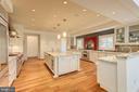 Gourmet Chef's Kitchen - Granite Countertops - 1168 CHAIN BRIDGE RD, MCLEAN