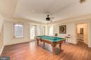 Billiards Room - walk-up exit - 1168 CHAIN BRIDGE RD, MCLEAN