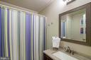 Lower Level Full Bath - 6656 HIGH VALLEY LN, ALEXANDRIA