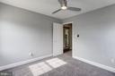 Master bedroom - 2241 FARRINGTON AVE #201, ALEXANDRIA