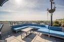 Lounge Area and BBQs on Rooftop Deck - 1021 N GARFIELD ST #221, ARLINGTON
