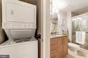 Stacked Washer & Dryer - 1021 N GARFIELD ST #221, ARLINGTON
