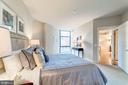 Master Bedroom - 1021 N GARFIELD ST #221, ARLINGTON