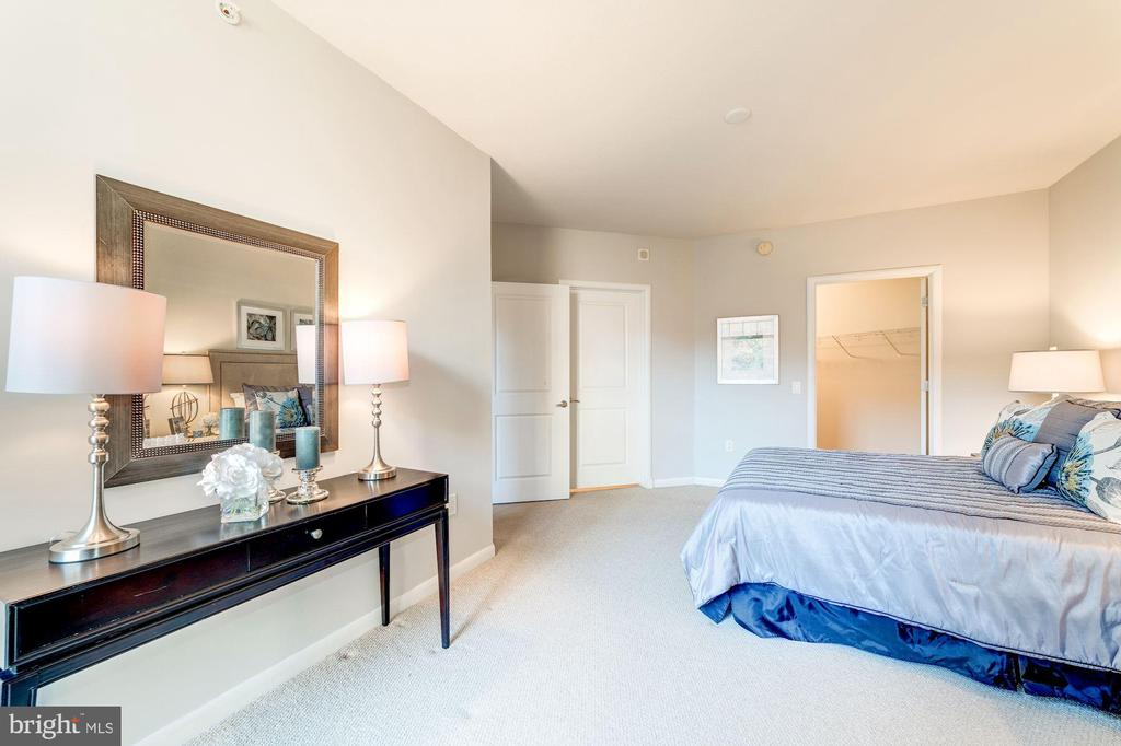 Doors to Walk-in Closet and Bathroom - 1021 N GARFIELD ST #221, ARLINGTON