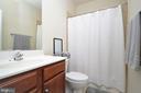 Princess Suite Full Bath #3 Upstairs - 11829 CLARKS MOUNTAIN RD, BRISTOW